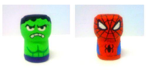 Hulk_spidermen_Luca Ciancio_Tappo di sughero