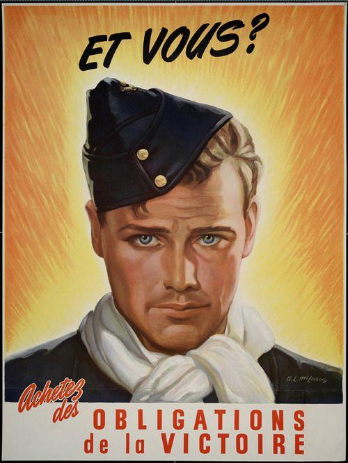 """""""Et Vous?  Buy Victory Bonds"""" ~ Canadian Second World War poster, c. 1942-1945"""