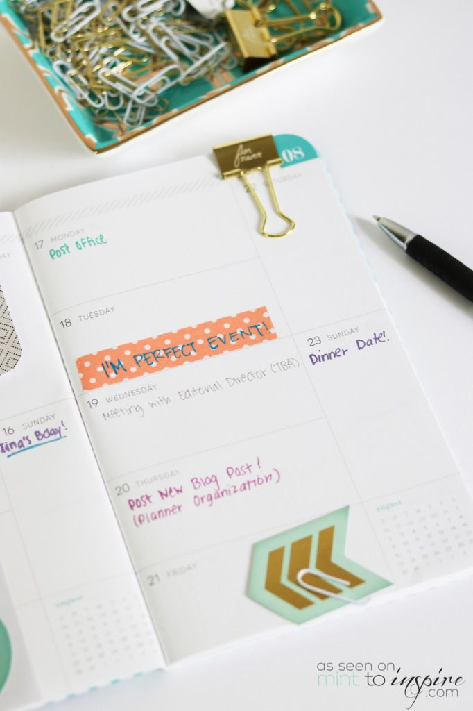 May Design | Planner Organization 101