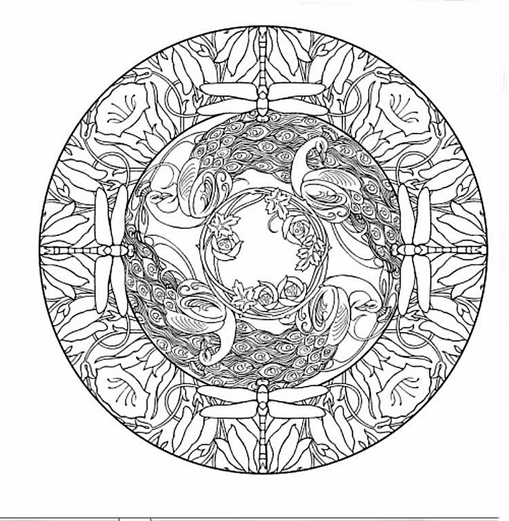 10 best Kleurplaten Mandala\'s e.d. images on Pinterest | Coloring ...