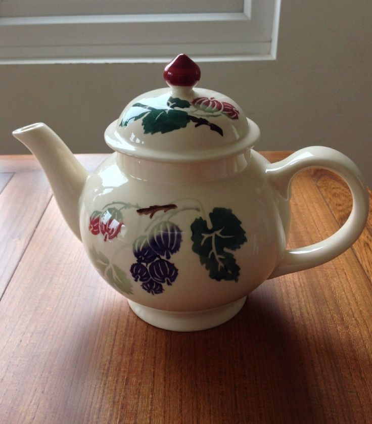 Gooseberry 4 Cup Teapot (Afternoon Tea Exclusive) 2002 (Discontinued)