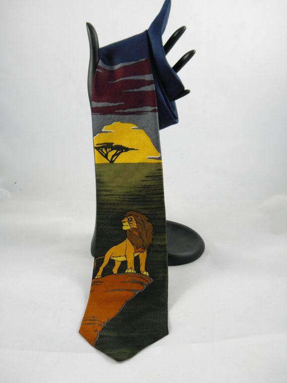 Vintage 1994 Disney's The Lion King Tie  by BlackBirdVintiques, $15.00