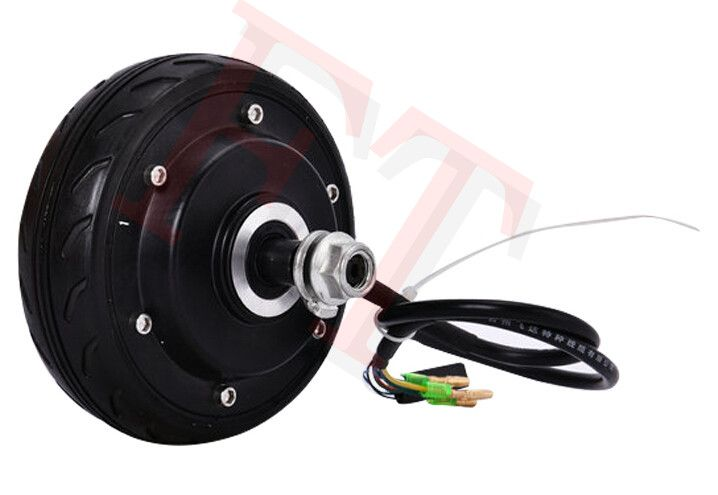 """5"""" 250W 48V e scooter brushless hub motor , electric skateboard spare parts  , electric scooter wheel hub motor"""
