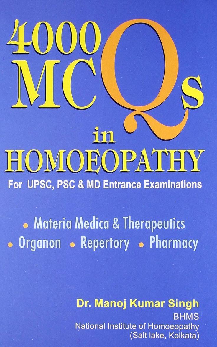 4000 MCQs in Homoeopathy [Jan 01, 2008] Singh, Manoj Kumar]