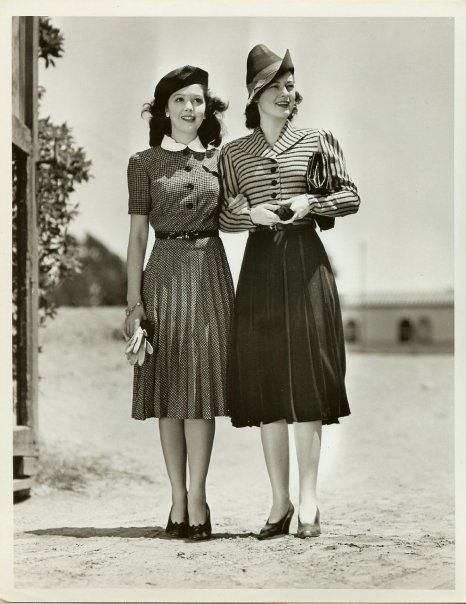 RUTH HUSSEY & ANN RUTHERFORD❤  LOL ~ A COUPLE OF RUTH'S