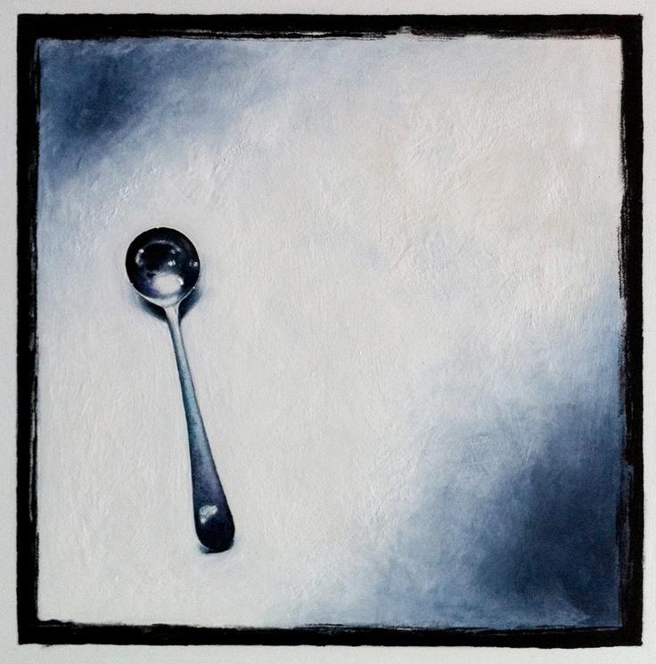 tiny mustard spoon from Daisy