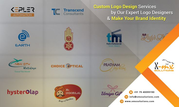 Custom #logo design services by our expert logo designers & make your #brand identity. http://www.xmxsolutions.com/logo-design-services/ #logodesign #logodesignservices #graphicsdesign