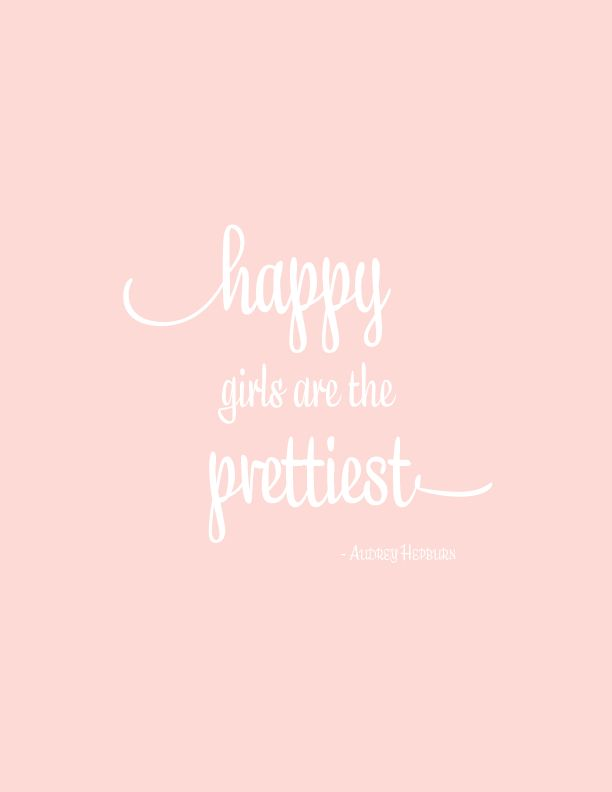 Happy Girls Print
