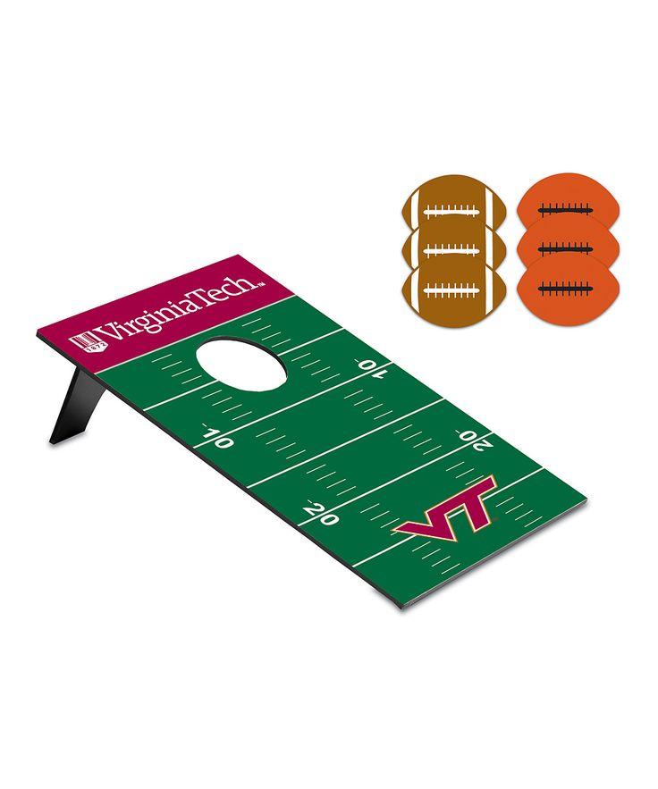 Virginia Tech Hokies Football Bean Bag Throw Game