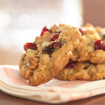 Cranberry Walnut Oatmeal Cookies | Host a Cookie Party