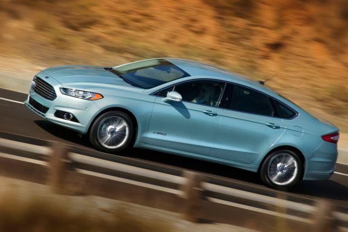 2013 Ford Fusion Hybrid - 47 MPG Rating EPA