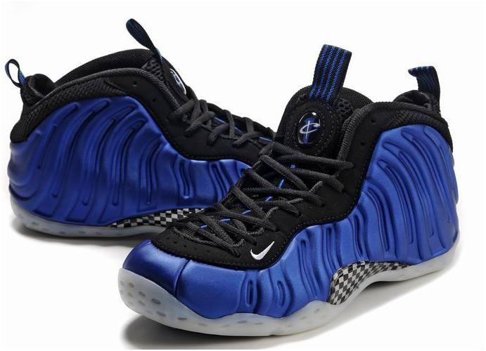 Penny Hardaway Shoes Nike Air Foamposite One Blue/Black0