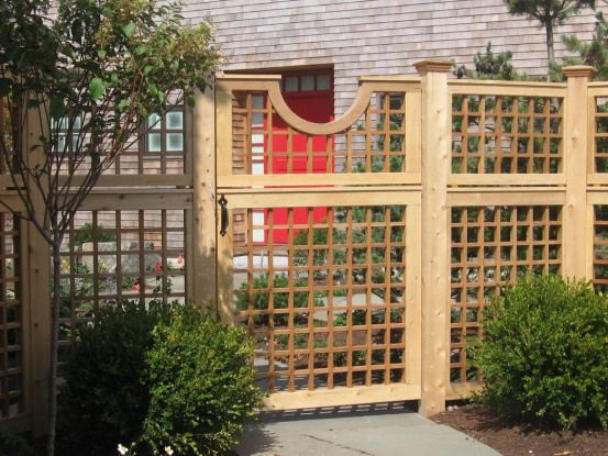 The Advantages And Disadvantages Of Wood Fence Decorative Custom Outdoorwood House Fence Design Fence Gate Design Fence Design