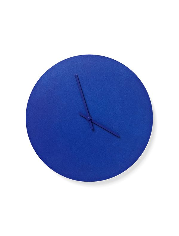 Norm Steel Clock is a light and simplistic clock with steel hands - designed by the Copenhagen-based simplicity lovers at Norm Architects.        The clocks are available in 4 different soft Scandinavian colours, some of them with matching coloured hands, others with clean steel hands.
