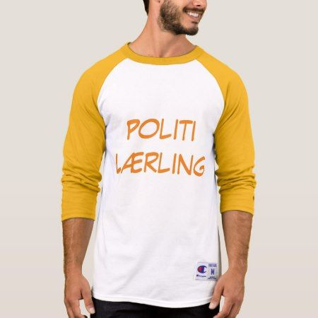 Politi Lærling, police Trainee in Norwegian T-Shirt - click to get yours right now!