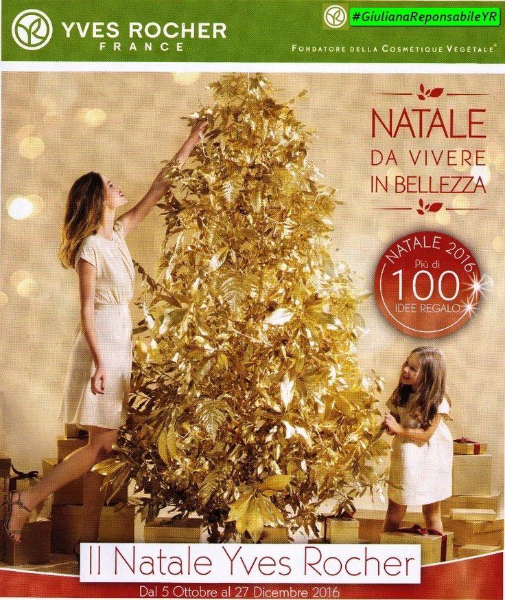 Il Natale #YvesRocher 2016 Disponibile da oggi l'#AlbumNatale 2016 Con Più di 100 Idee Regalo Natale Da vivere in Bellezza Per info #GiulianaResponsabileYR
