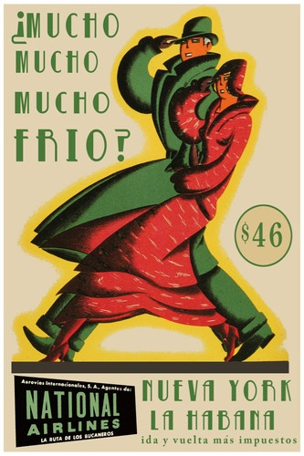 National airlines mucho frio advertisement