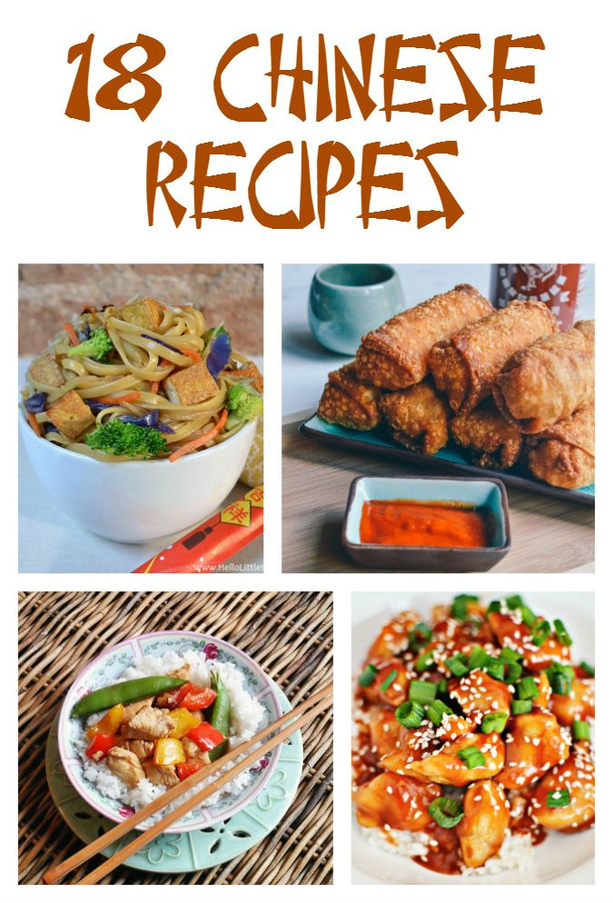 18 Chinese Recipes; featuring stir fry, kung pao chicken, fried rice, chow mein, egg rolls, General Tso's chicken and more! - Gator Mommy Reviews