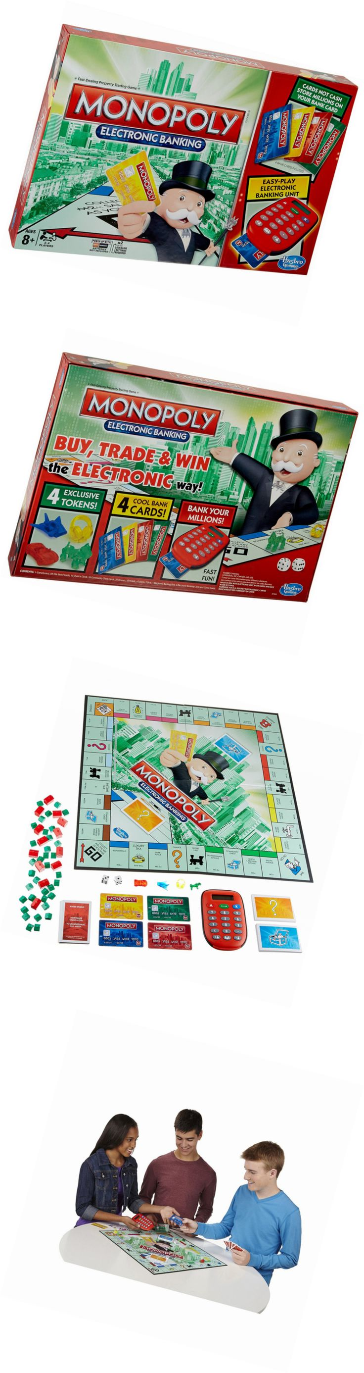 Game Pieces Parts 7317: Monopoly Electronic Banking Game -> BUY IT NOW ONLY: $94.72 on eBay!
