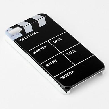 Kul Hollywood Film Case for iPhone 4 og 4S