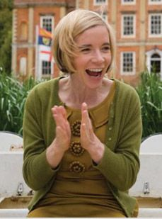 Dr Lucy Worsley. - historian and curator of historic royal palaces and altogether amazing person!