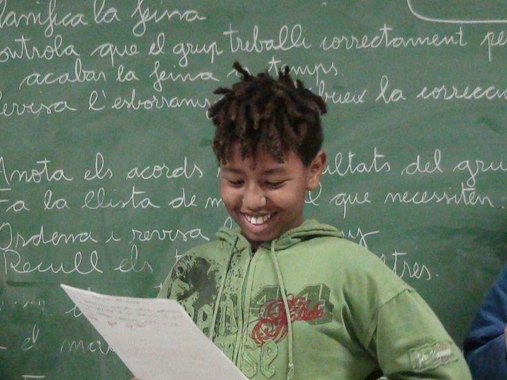 1. Escola Les Palmeres (Santa Coloma de Gramenet) - Xarxa de competències bàsiques. Com organitzem els grups cooperatius?