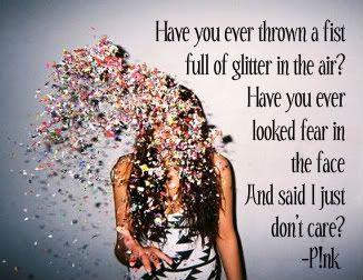 Fist full of glitter lyrics