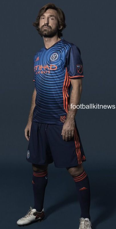 NYCFC Away Kit 2016 Pirlo