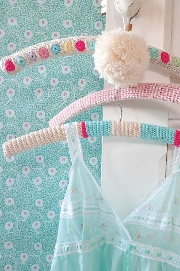 Crocheting On A Hanger : Crochet hangers Crochet Pinterest