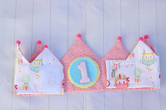 ideas de regalo para niñas, corona de tela reversible