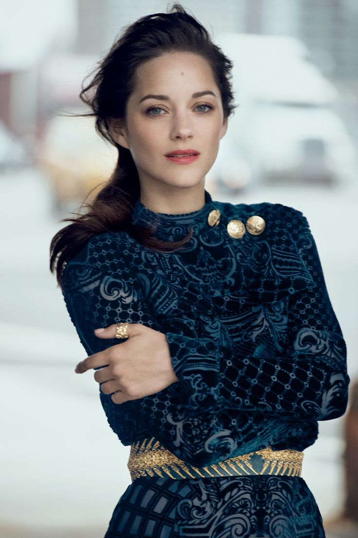 Marion Cotillard on French girl style