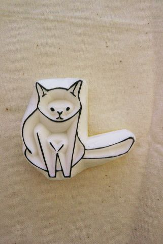 Cute kitty stamp!