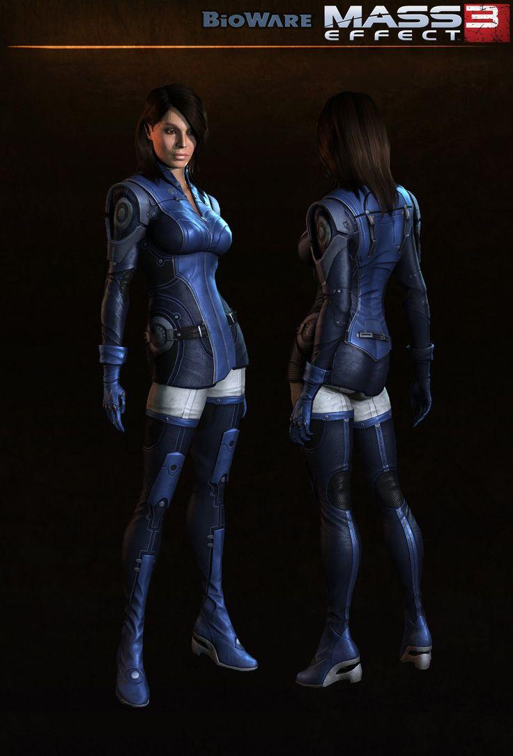 Ashley - Mass Effect 3, Jaemus Wurzbach on ArtStation at https://www.artstation.com/artwork/ashley-mass-effect-3