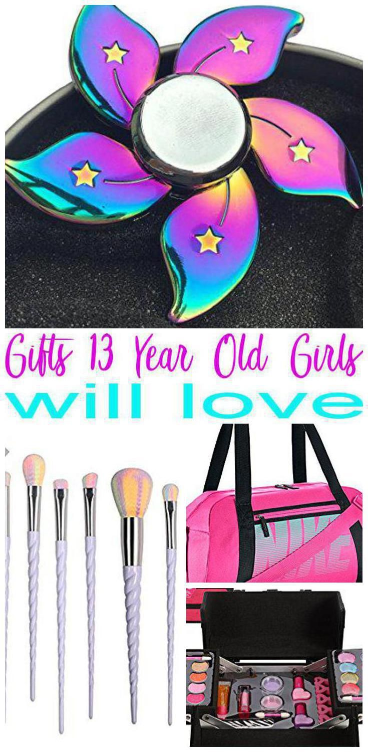 Best Gifts For 13 Year Old Girls Trendy Gift Ideas For A Girls Thirteenth Bday Christmas Or Just B Birthday Gifts For Teens Trendy Gift Idea Girls Gift Guide