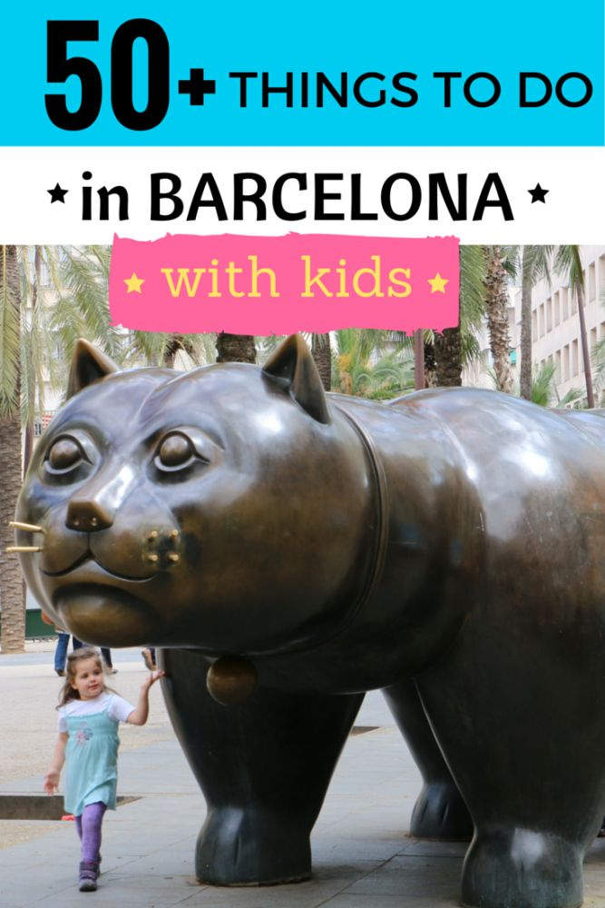 50 ideas for things to do with kids in Barcelona - there are tons of family-friendly activities in Barcelona, so here are ideas for what you can do with your little ones in the Catalan capital.