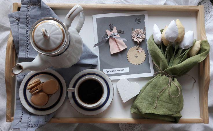 Kawa  podana do łóżka :)  Facebook E&G lifestyle
