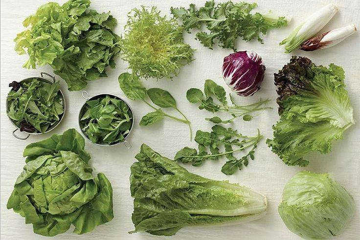 A legjobb salátafélék