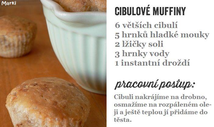 cibulové muffiny