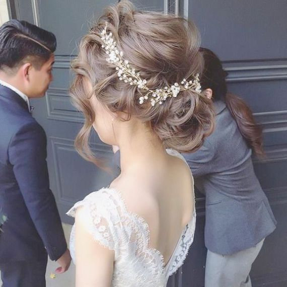 Marriage ceremony Hair Half Up Half Down + Unfastened Curls Tutorial that Marriage ceremony Rings For Ele…