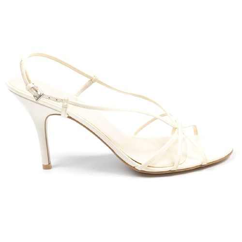 Nine West Womens Slingback Sandal NWDAYGLOW WHITE