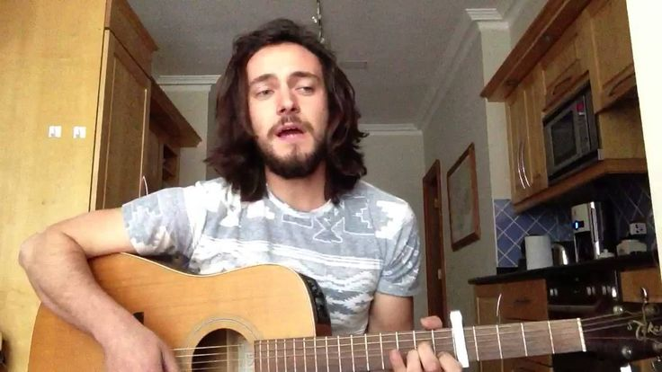 "George Blagden covering ""I will follow you into the dark"" from Death Cab for Cutie."