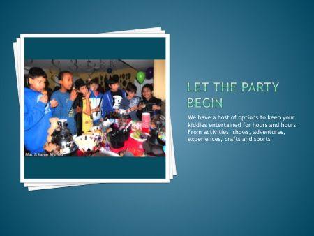 Party activites