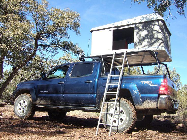 Off-Road Pop Up Truck Camper for Dbl Cab Taco? - Toyota FJ Cruiser ...