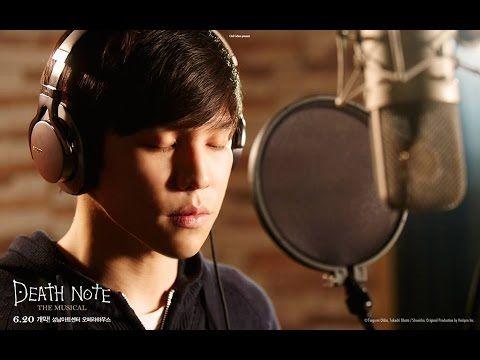 [Eng sub] Death Note Musical - Death Note (Light : Kwang-Ho Hong) 홍광호 뮤지컬 데스노트 - YouTube