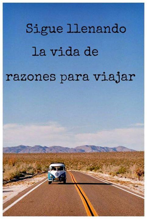 Razones para viajar...