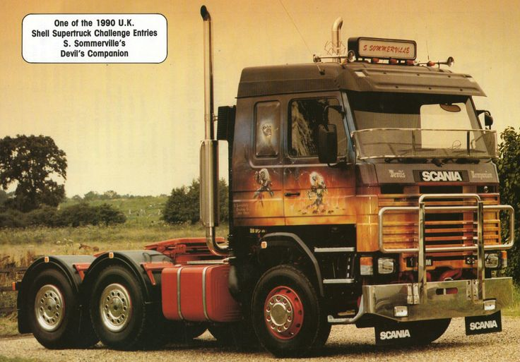 Scania 142 - The Beast