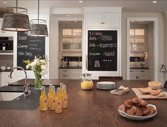 Kitchen ideas there are great ideas in this kitchen - Chalkboard ideas for kitchen ...