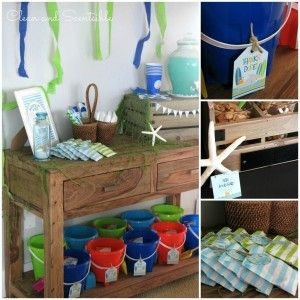 Under the Sea Party - Clean and Scentsible