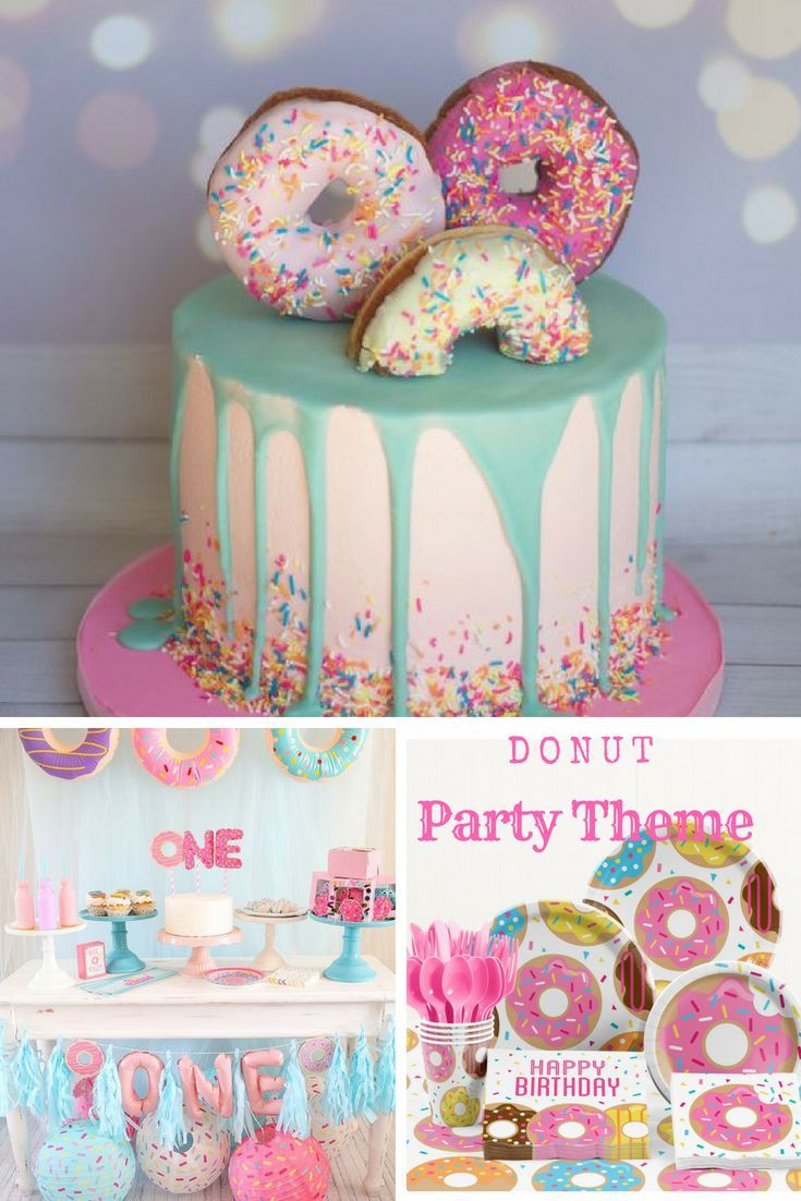 Shop Donut Party Supplies Donut Party Theme Ideas Get