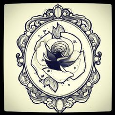Frame For Marie Miss JulietTattooDraw And Life Rose Tattoo Giulia Frederica Parma